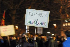 Pegida rally in Munich